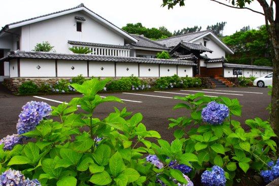 Miyakonojo, Japonya: 駐車場として利用した人形浄瑠璃の館