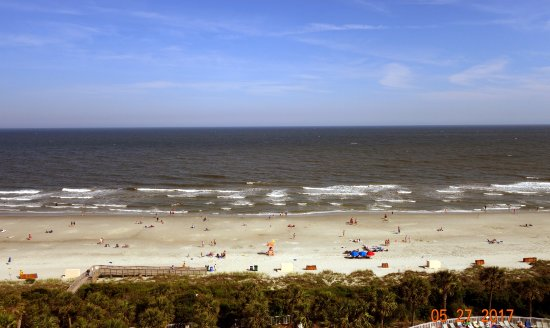Myrtle Beach Marriott Resort & Spa at Grande Dunes: View from our room.