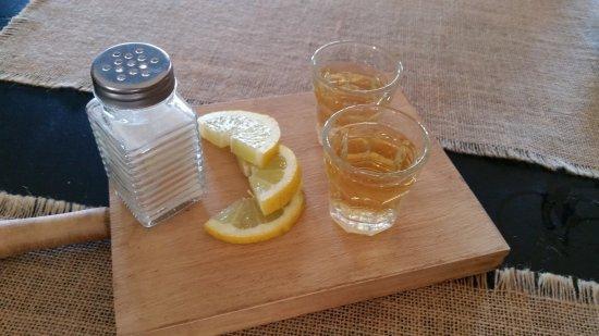 Mairena del Aljarafe, Hiszpania: Chupito de tequila