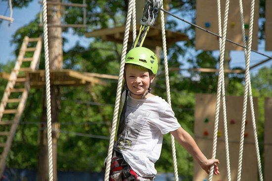 Adrenaline rush for everyone in Kuressaare Adventure park / Seikluspark K-Pargi
