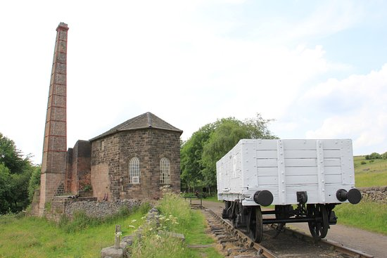 Middleton Top engine house and rails