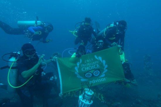 "3rd time AWARD: ""Traveler Choice""  for Matahari Tulamben Resort, Dive & SPA"