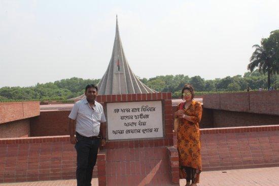 Jatiyo Sriti Shoudho (National Martyrs' Memorial) : @ National Martyrs' Memorial