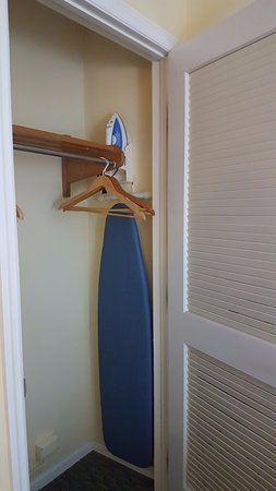 Holiday Inn Key Largo: Room Closet, Ironing Board And Iron