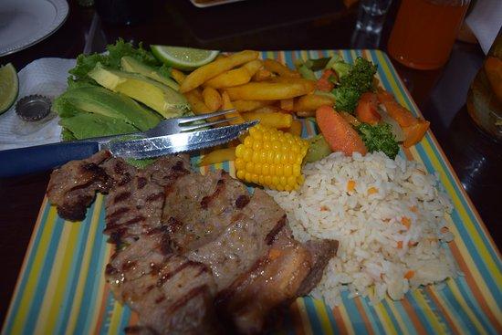 San Juan la Laguna, Guatemala: Carne Planchar (?)