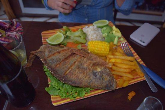 San Juan la Laguna, Guatemala: Pescado Frito