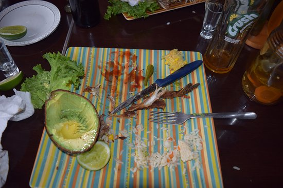 San Juan la Laguna, Guatemala: yup.. ate it all...