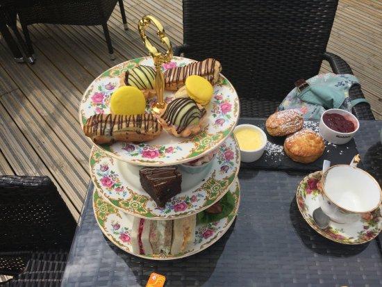 Llandysul, UK: great afternoon tea