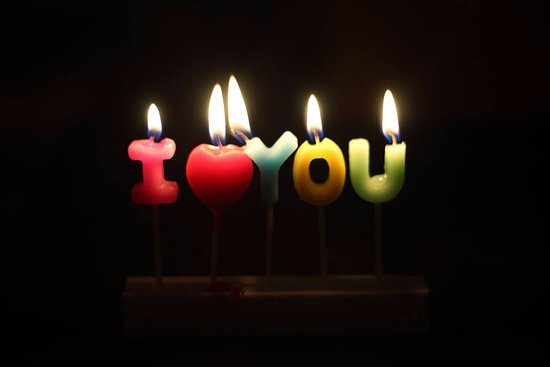 Tous Les Jours I Love You V Day Scented Candles