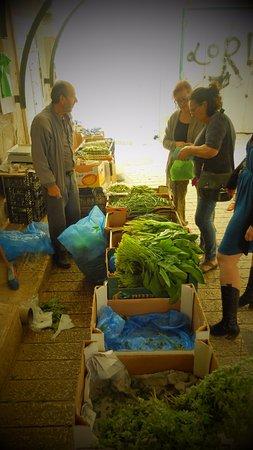 Old Market: Fresh veggies