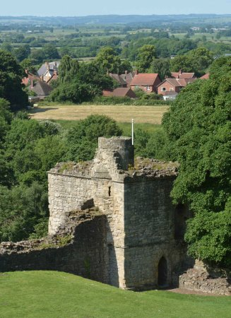 The Mill Tower, Pickering Castle