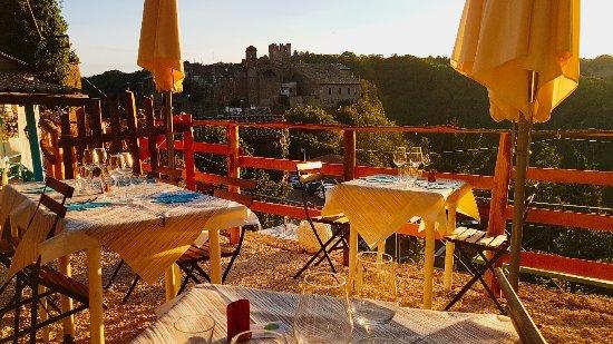 Ristorante La Terrazza Sul Treja, Calcata - Restaurant Reviews ...