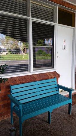 Karuah, Australia: Outdoor seating