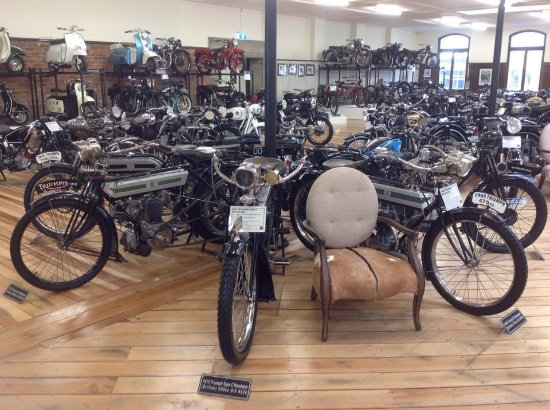 Invercargill, Nova Zelândia: A small selection of the motorcycles