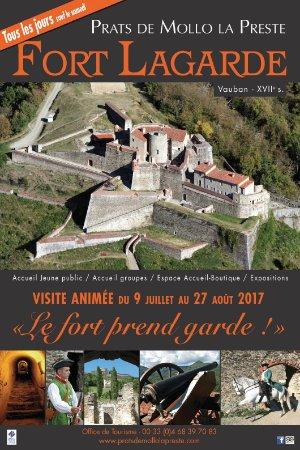 """Prats de Mollo la Preste, Prancis: Visite animée : """"Le Fort prend garde"""" du 09 juillet au 28 août 2017 - Tous les jours sauf le sam"""