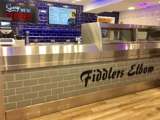Leintwardine, UK: Fiddlers Elbow Fish & Chips