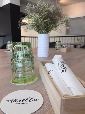 Seinajoki, Finlandia: Kaunis ja viihtyisä ravintola