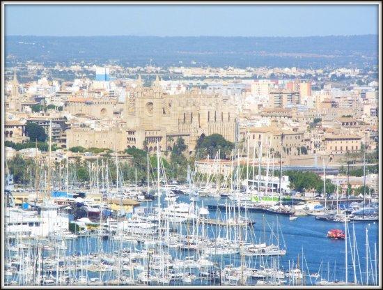 City Sightseeing Palma de Mallorca : View from Castle Bellver