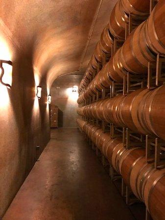 Paso Robles, Kalifornien: Winery tour.