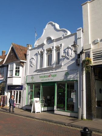 Faversham, UK: The shop front