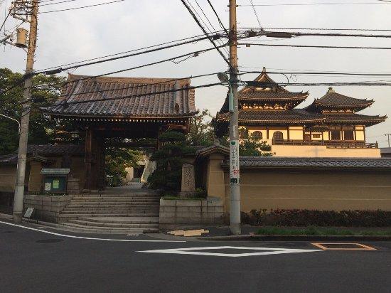 Edogawa, ญี่ปุ่น: 工事でシールドがかかる前の以前の金堂