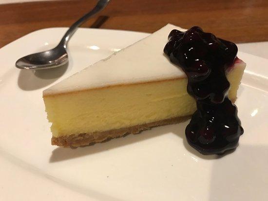 Anjuna, India: Baked NY Cheese Cake