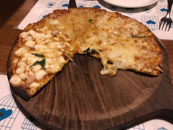 Anjuna, India: Four Cheese