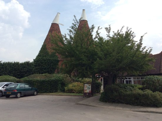 Paddock Wood, UK: Brookers oast