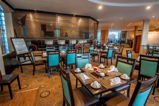 Paxton Hotel: Breakfast area