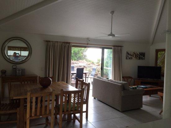 Peregian Beach, Αυστραλία: Upstairs living area