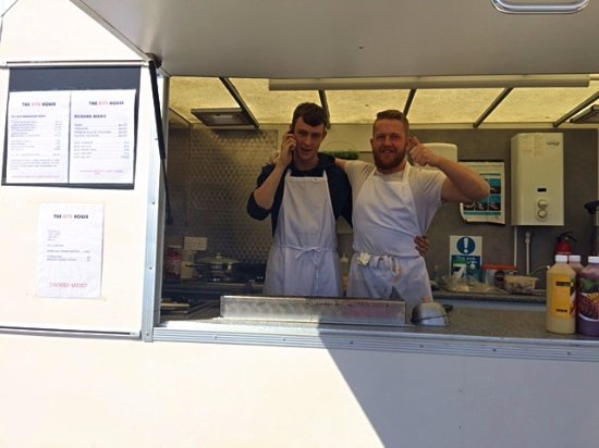 Fortrose, UK: The Bite House - cooking with love!!!