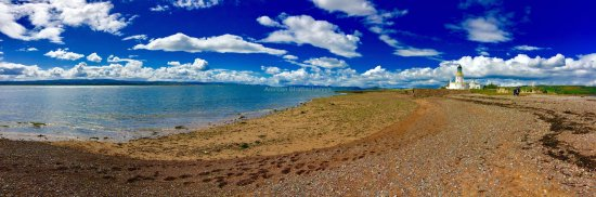Fortrose, UK: The beautiful panorama of Chanonry Point!