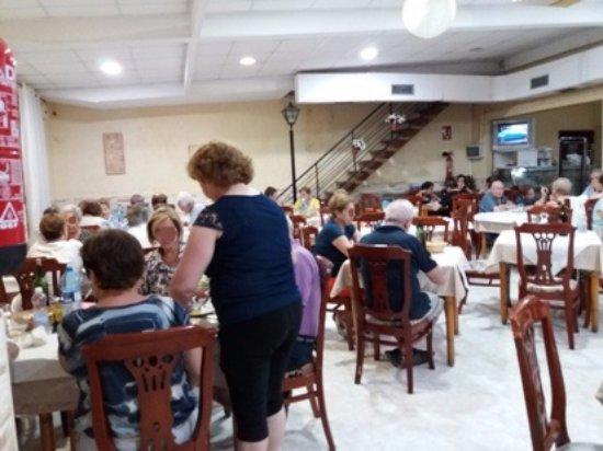 Lo Pagan, Spain: Intérieur du restaurant