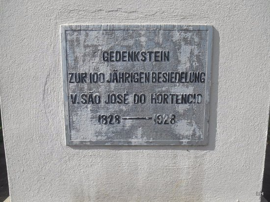 Sao Jose do Hortencio, RS: Monumento Centenário Colonização Alemã