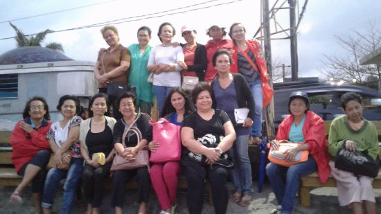Daet, Filipinas: Women Ministry in our church had a picnic