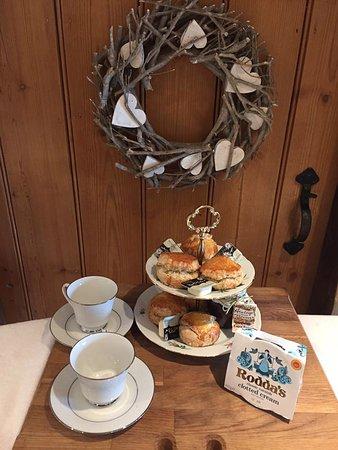 Waterrow, UK: Cream Tea