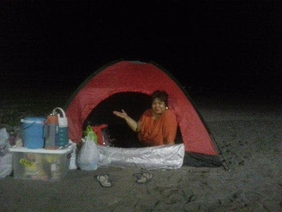 Daet, Filipinas: My solo pic during the picnic of our JIL tribe Hannah