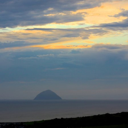 Ballantrae, UK: View from the Tower at sunset
