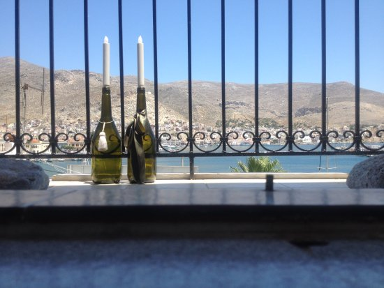 Pothia, Grecia: Friday the 22rd June 2917. Balcony room no: 24