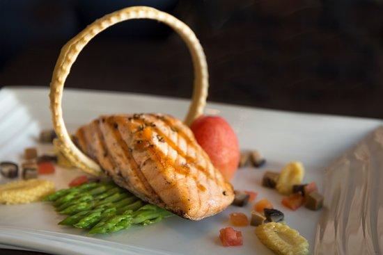 Pan-seared Norwegian Salmon