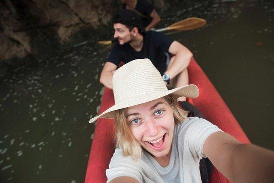 Khao Sok National Park: Canoeing in the Khao Sok river