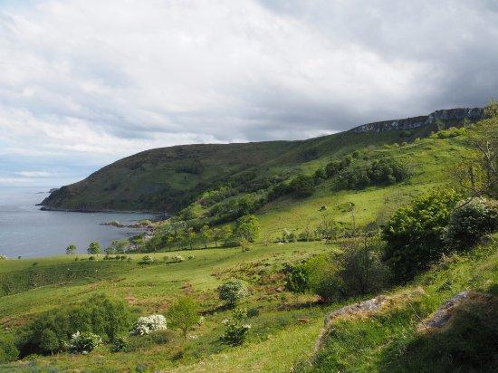 Ballycastle, UK: View over Murlough Bay