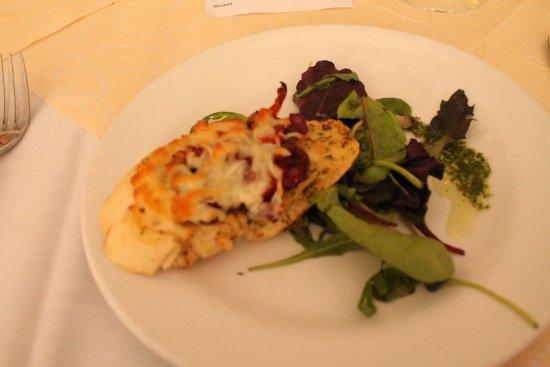 Lansdowne Hotel : Starter: bruschetta.