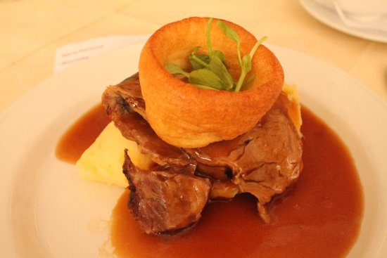 Lansdowne Hotel : Roast dinner.