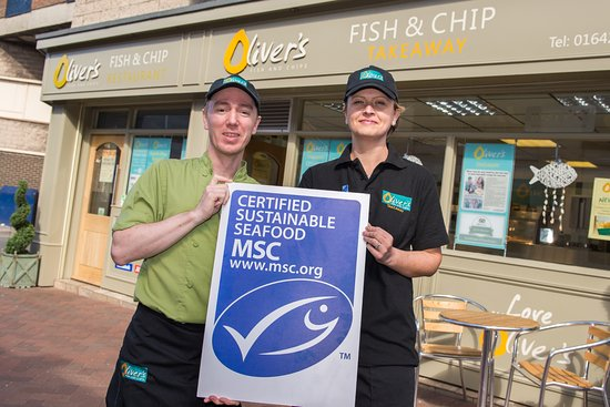 Redcar, UK: OLIVER'S IS PROUD TO HAVE BEEN MSC CERTIFIED FOR OVER 2 YEARS NOW!