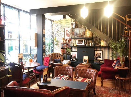 Downstairs Lounge Picture Of Biddy S Tea Room Norwich Tripadvisor