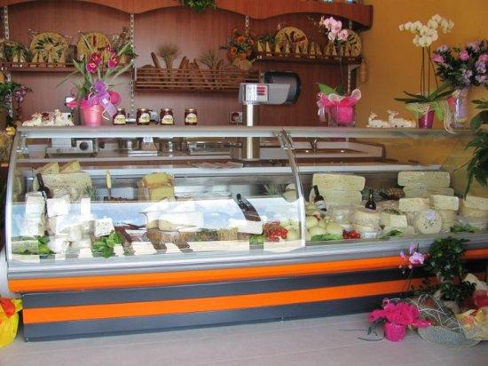 Zafferana Etnea, Italia: Il punto vendita