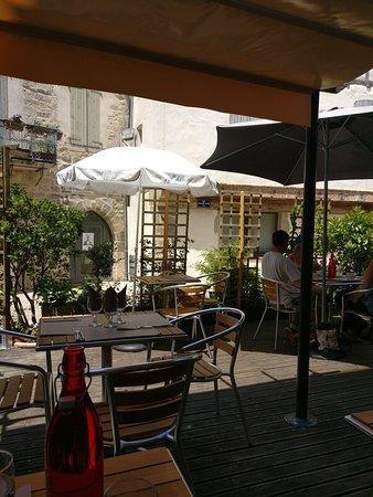 Saint-Antonin Noble Val, Frankrig: Beautiful place delicious food.