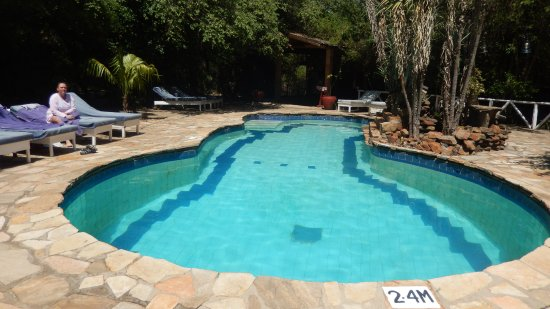 Fig Tree Camp: Nice pool