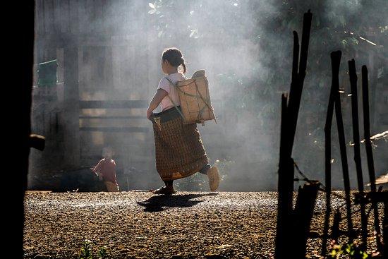 Sekong, Laos: Village life in Ban Khan Don